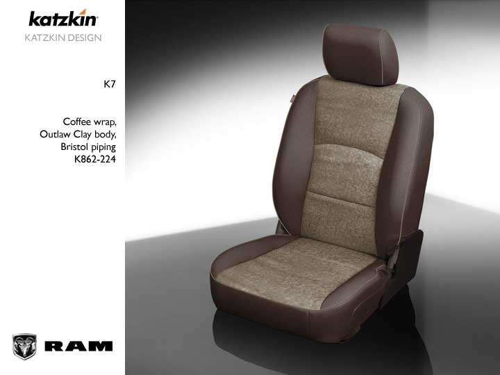 Dodge Ram Crew Cab 1500 2500 3500 Katzkin Leather Seats 2013