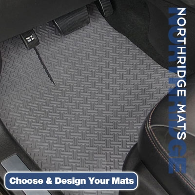 NorthRIDGE All-Weather Automotive Floor Mats