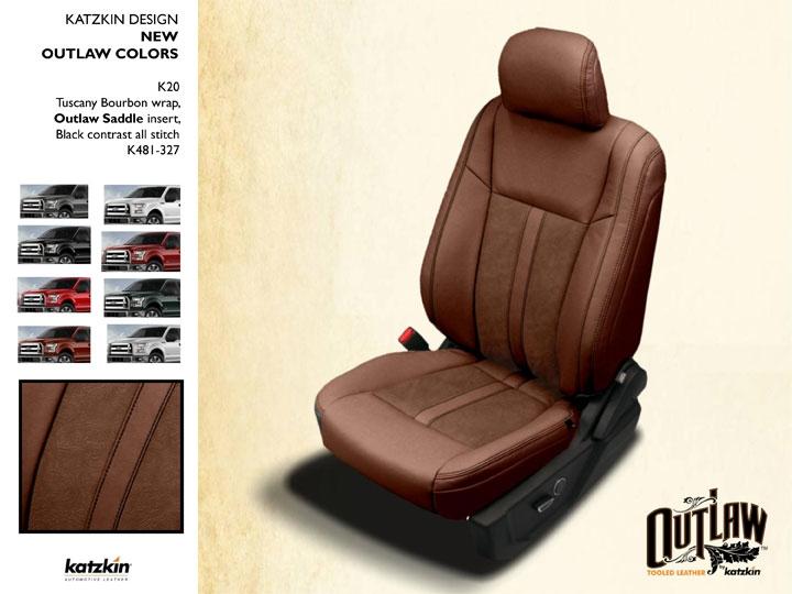 2018 Ford F150 Regular Cab Xlt Katzkin Leather Interior