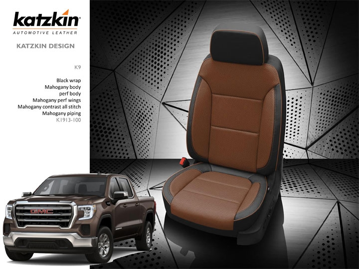 gmc truck leather seat covers