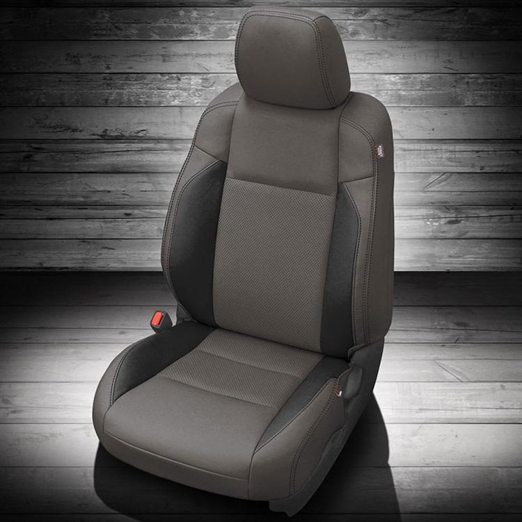 Tacoma Seat Covers >> 2016 2020 Toyota Tacoma Double Cab Katzkin Leather Interior Manual Seats 2 Row