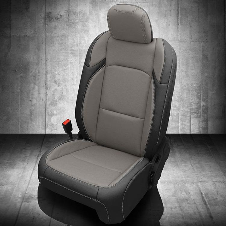 Jeep Wrangler 4 Door Sport Katzkin Leather Seats 2018 2019 2020 Replaces Factory Cloth Autoseatskins Com