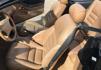 Ford Mustang GT Coupe Katzkin Leather Seats, 1994, 1995, 1996, 1997, 1998