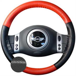 Kia Forte Leather Steering Wheel Cover by Wheelskins