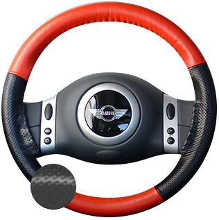 Infiniti G35 Leather Steering Wheel Cover by Wheelskins