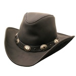 Kakadu Razorback Leather Hat