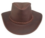 Kakadu Blackwell Leather Hat