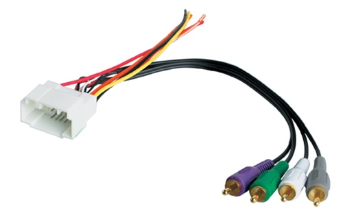 BEST KITS BHA1725 Acura RSX Aftermarket Radio Harness With AMP IntegrationBrentwood Car Audio