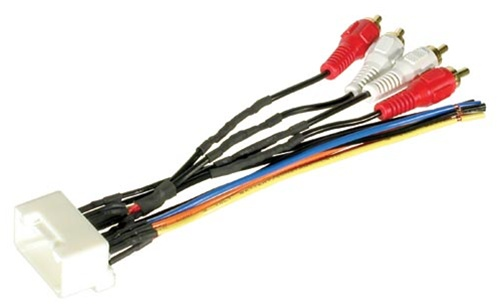 Enjoyable Bha8113 Toyota 20 Pin Premium Harness With Rcas Wiring Digital Resources Bemuashebarightsorg
