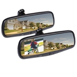 "Rearview Mirror With Built In 4.3"" Color Monitor"