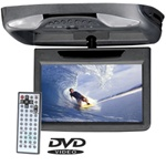 "8.5"" Flip-Down System with Built-in Base-Load DVD Player"