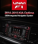 Unavi F1 Kia Optima 2014, 2015