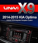 Unavi X9 Kia Optima 2014-2015