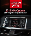 Unavi F1 Kia Optima 2016-2017