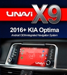 Unavi X9 Kia Optima 2016-2017