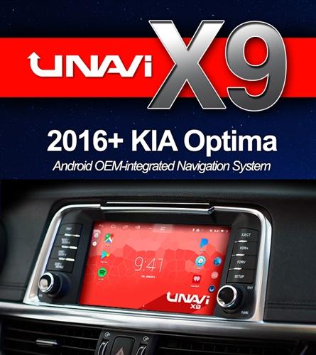 Unavi X9 Kia Optima 2016 2017