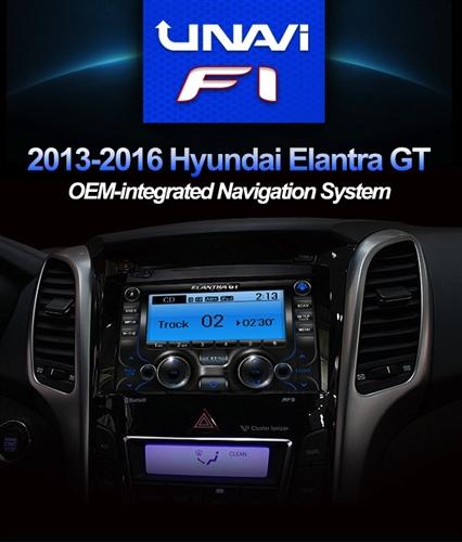 UNAVI F1 Hyundai Elantra GT 8
