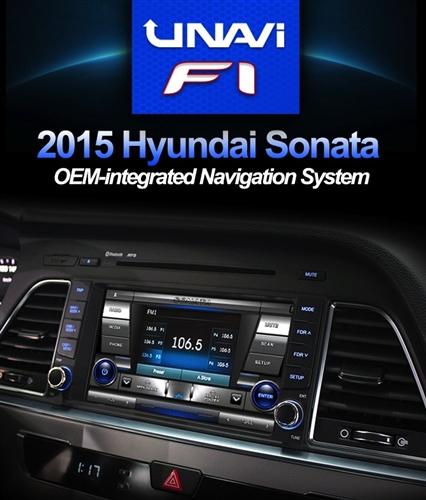 UNAVI F1 2015 Hyundai Sonata 8