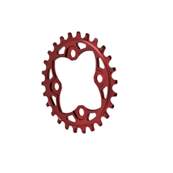 Absolute Black 104 Chainring 64BCD