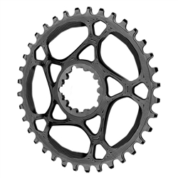 Absolute Black Spiderless GXP Direct Mount Chainring