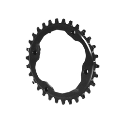 Absolute Black XTR Asym 96BCD Oval Chainring