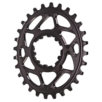 Absolute Black Spiderless GXP Boost DM Oval Chainring