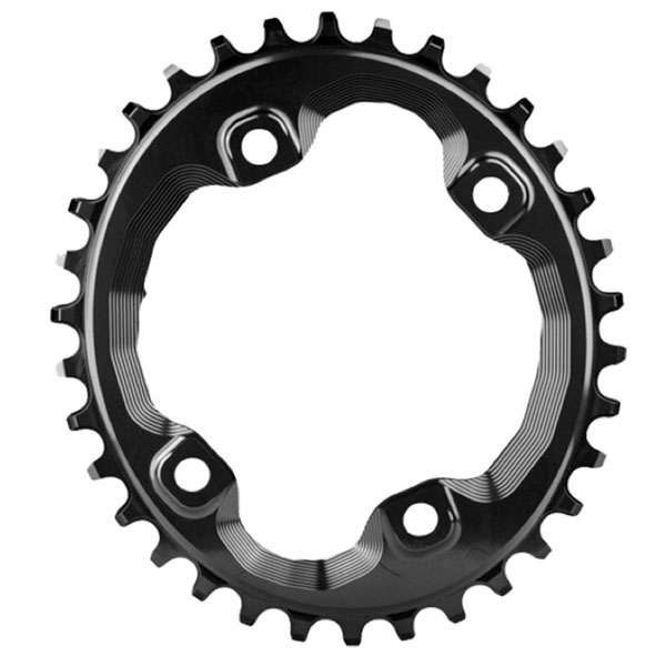 Absolute Black XT Asym 96BCD Oval Chainring