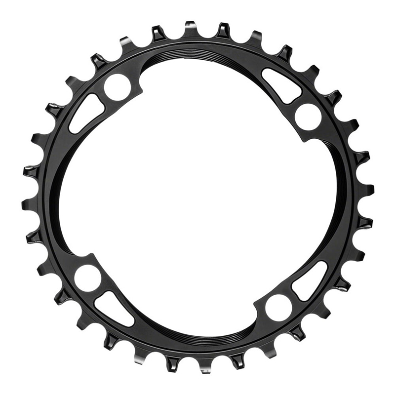 Absolute Black Round 104 BCD Chainring