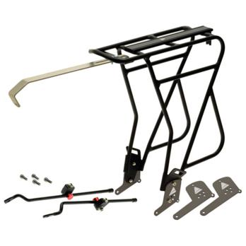 Axiom Journey Uni-Fit MK 3 Rear Rack: Aluminum