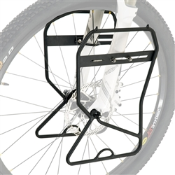 Axiom Journey Suspension and Disc Lowrider Front Rack Black