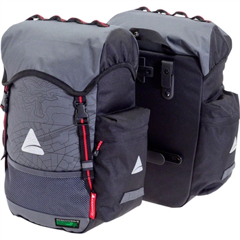 Axiom Seymour Oceanweave P35+ Panniers Gray/Black