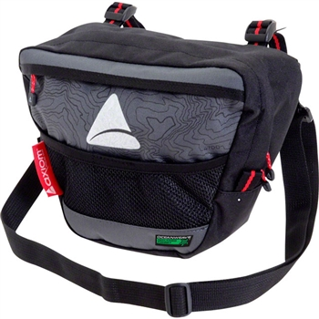 Axiom Seymour Oceanweave P4 Handlebar Bag Black/Gray