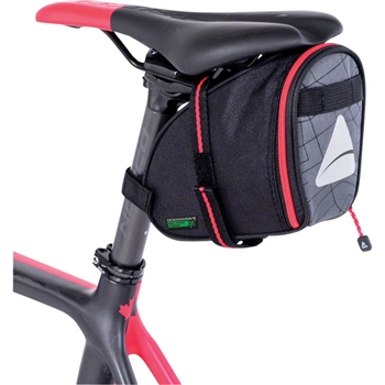 Axiom Seymour Oceanweave Wedge 1.3 Saddle Bag Black