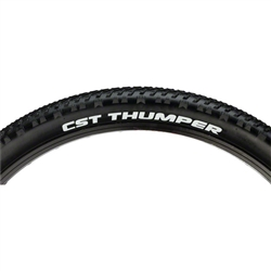 CST Thumper Tire 26 x 2.1  27tpi Steel Bead Black