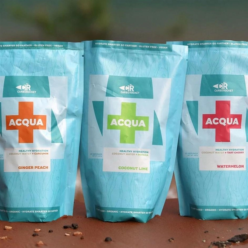 CarboRocket ACQUA+ Healthy Hydration Drink Mix 20 Serving