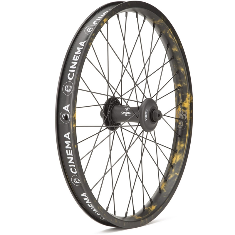 Cinema CK Edition 888 FX Front Wheel Smoked Gold