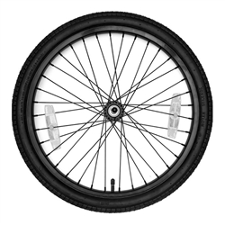 CoPilot Steel Rim Replacement Wheelset For Models A/T