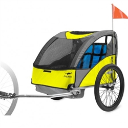 CoPilot Model A Bicycle Trailer