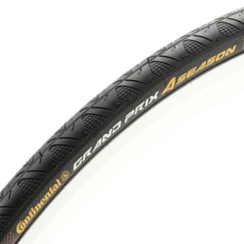 Continental Grand Prix 4-Season Tire 700x23 Black DuraSkin Folding