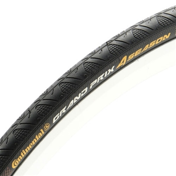 Continental Grand Prix 4-Season Tire 700x32 Black DuraSkin Folding