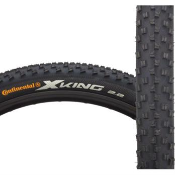 Continental X-King Tire 27.5x2.2 ProTection Folding Bead Black Chili Rubber