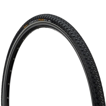 Continental Contact Plus 700 x 37c Tire Reflex Black