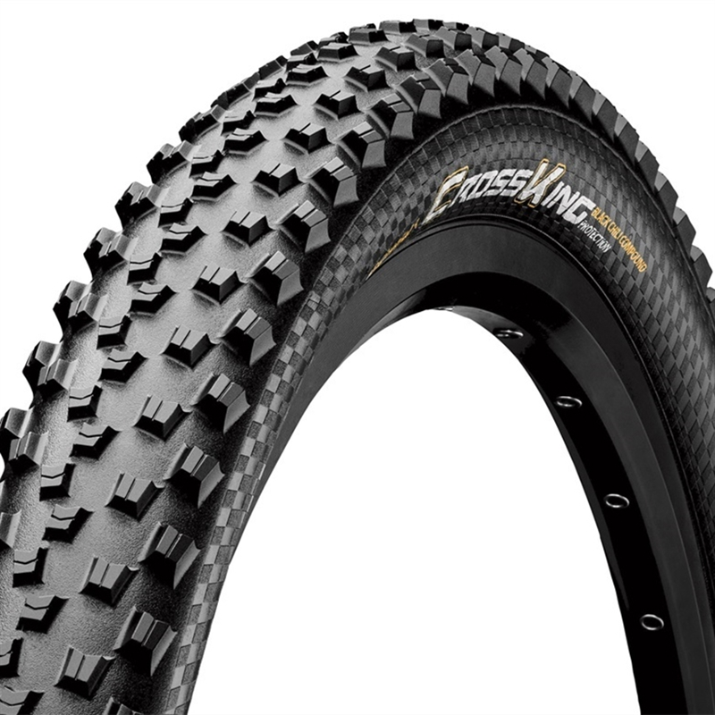 Continental Cross King Folding ProTection + Black Chili Tire