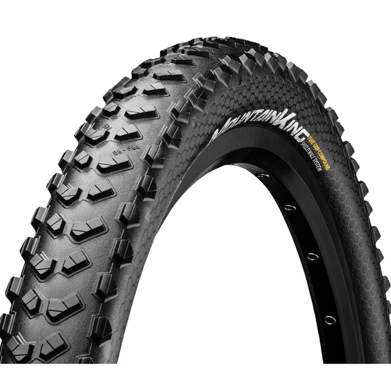 Continental Mountain King 26 x 2.3 SheildWall Folding Tire