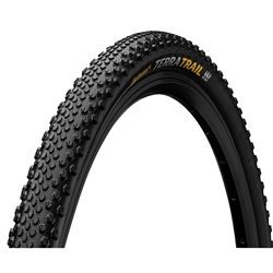 Continental Terra Trail 650B x 40 Folding ProTection TR + Black Chili
