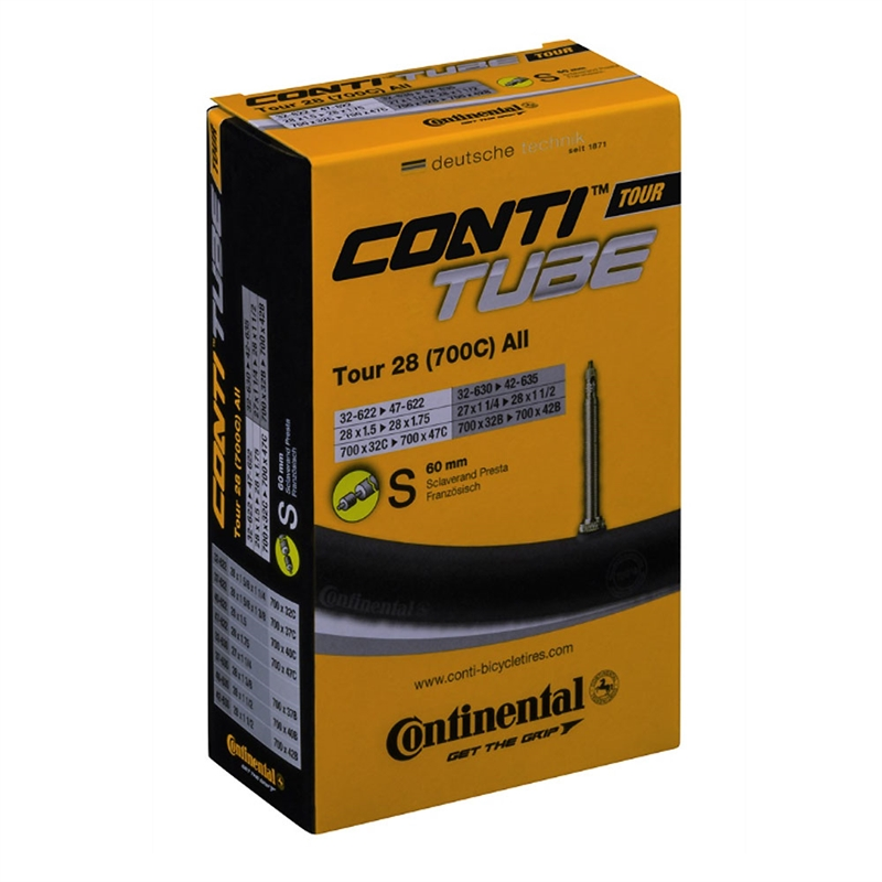 Continental 700 x 32-47mm 60mm PV Tube