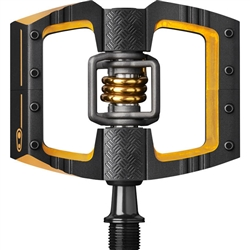 Crank Brothers Mallet DH 11 Pedals Black/Gold