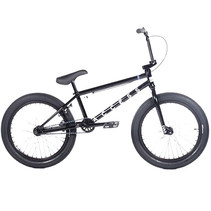 "Cult Access 20"" Black BMX Bike"