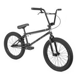 "Cult Control 20.75"" Black BMX Bike"