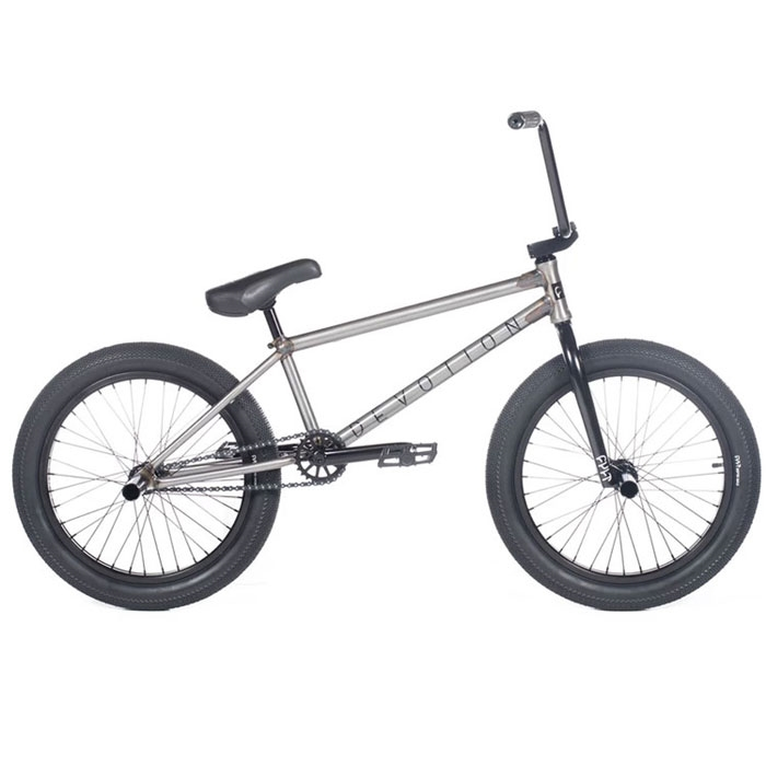 "Cult Devotion 21"" Grey BMX Bike"